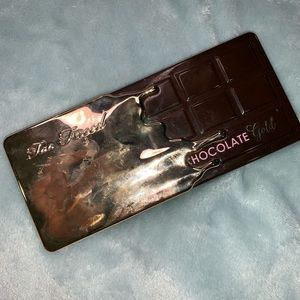 Too Faced Gold Chocolate Bar
